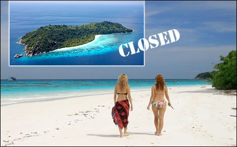 Koh Tachai closed