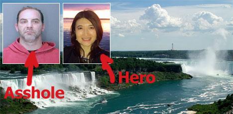 Robbery and sexual assault at Niagara Falls