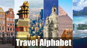 Travel Alphabet