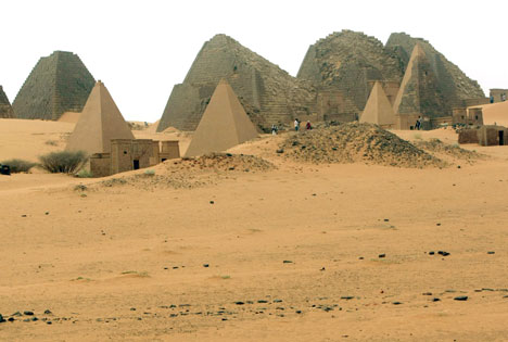 pyramids meroe sudan forgotten tourist destination
