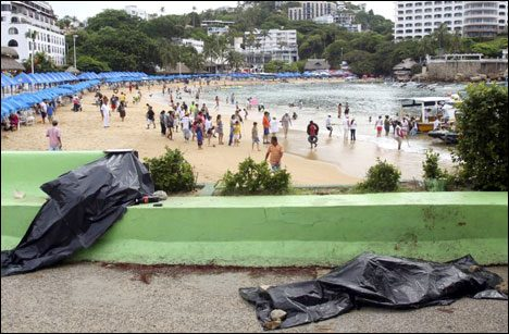 Acapulco 2016: drug cartells keep the city in the News.