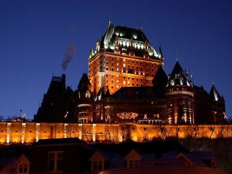 Canadian Stereotype Tourist Photos Canada: Chateau Frontenac, Quebec City