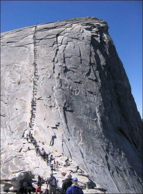 Dangerous Places Tourists half-dome-yosemite
