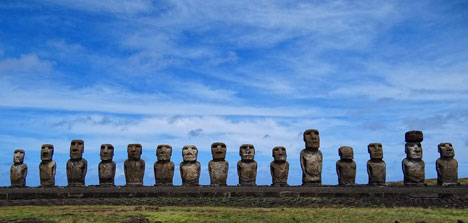 Easter Island not so easy to get there