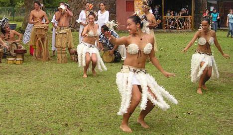 Easter Island erotic dance