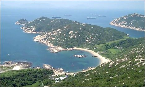 Hongkong's Lamma Island is famous for sandy beaches and a laid-back vibe.