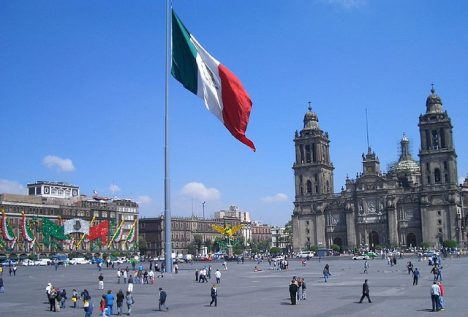 Mexicos Stereotype Tourist Photos Plaza de la Constitucion