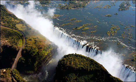 Top 10 Impressive Waterfalls Victoria Falls Southern Africa
