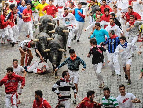 Running with the bulls palmona spain