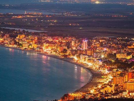 Cheapest expensive Beaches Europe Sunny Beach, Bulgaria