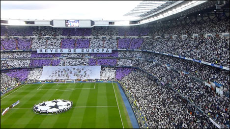 Event tourism football temples Madrid