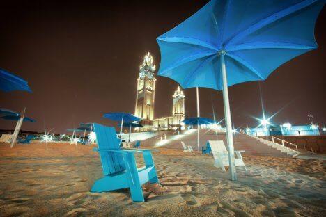 urban beaches place de lhorloge montreal