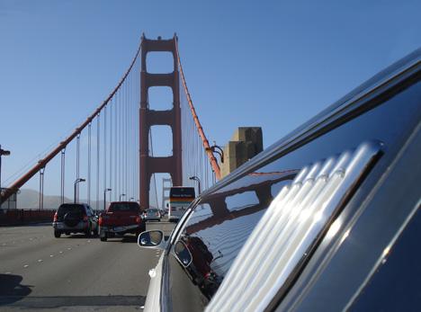 SR 1 runs US 101 at the Golden Gate Bridge