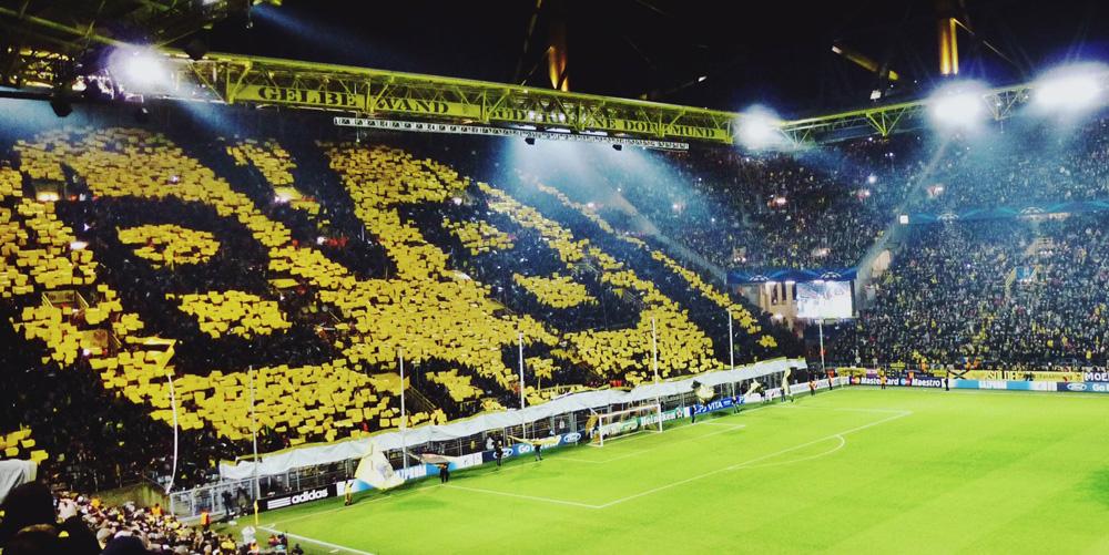 event tourism football temples Borussia Dortmund BVB