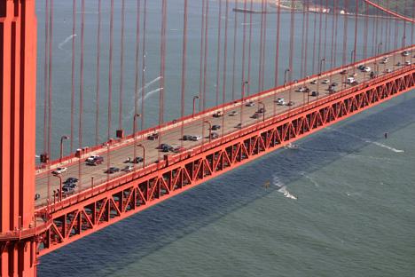 Golden Gate Bridge. Photo by Chili.