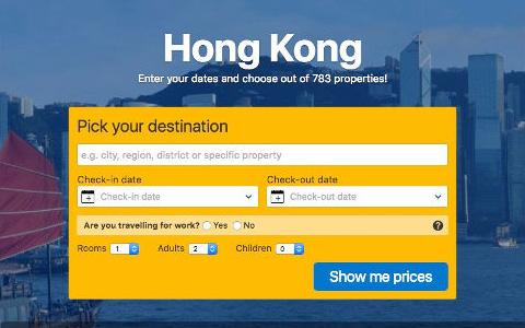 hongkong booking com