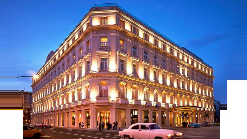 Hotel Manzana. Formerly known as Manzana de Gómez. Havana's first luxury hotel, opened in 2017. Photo by Kempinski