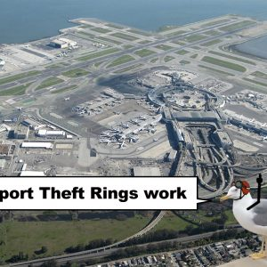 How airport theft rings work
