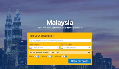 Malaysia pick a destination here