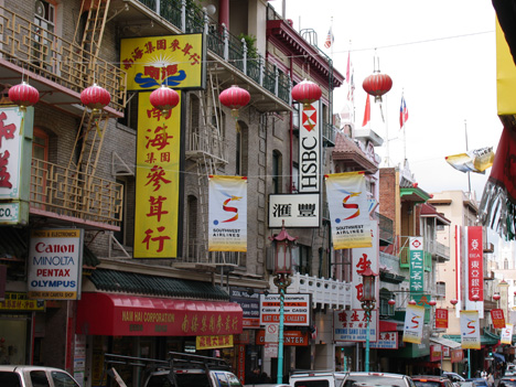 San Francisco Chinatown. Photo by Chili.
