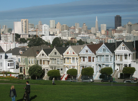 If you're going to San Francisco Painted Ladies. Photo by Chili.